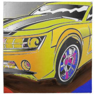 Chevy Camero Napkin
