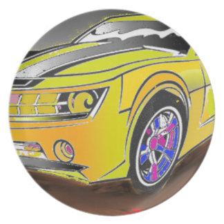 Chevy Camero Plate
