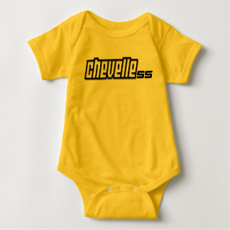 Chevy Chevelle SS Super Sport Muscle Car Baby Bodysuit