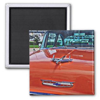 Chevy Chevrolet Tri-Five BelAir Hotrod Magnet