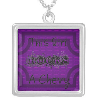 Chevy Girl Necklace