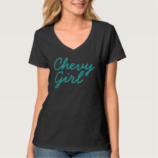 Chevy Girl V-Neck T-Shirt
