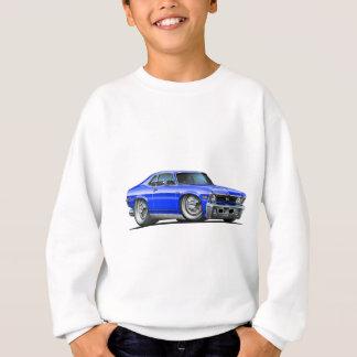 Chevy Nova Blue Car Sweatshirt