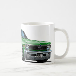 Chevy Nova Green Car Coffee Mug