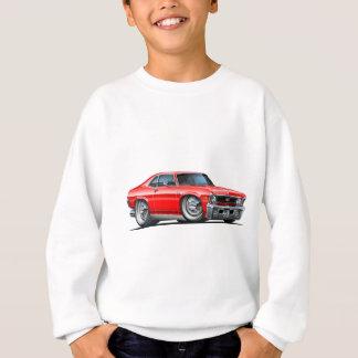 Chevy Nova Red Car Sweatshirt