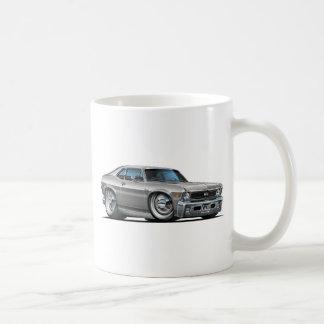 Chevy Nova Silver Car Coffee Mug