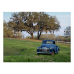 Chevy Pickup Truck Chevrolet Country Truck Photo Posters