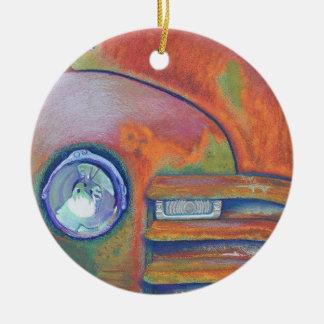 Chevy Truck Ceramic Ornament