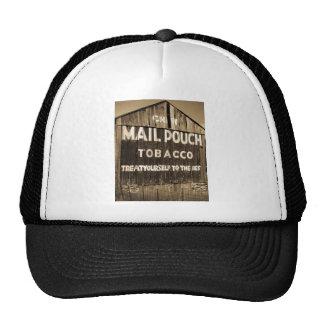 Chew Mail Pouch Tobacco Barn Mesh Hats