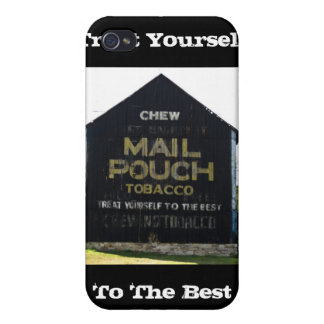 Chew Mail Pouch Tobacco Barn - Original Photo iPhone 4 Cover