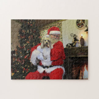 Chewy and Santa Jigsaw Puzzle