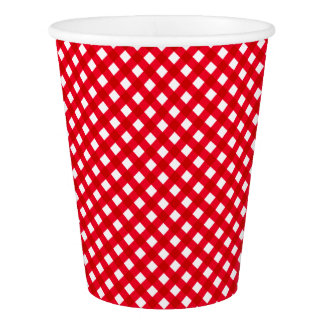 CHEX 11-DARK RED-PAPER CUPS