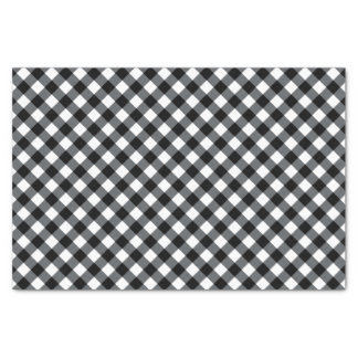 Chex 12-Black-White-TISSUE WRAPPING PAPER