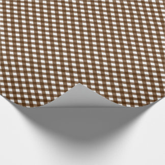 CHEX 14 BROWN-GIFT WRAPPING PAPER