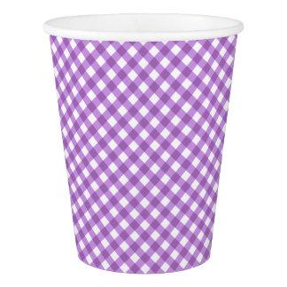 CHEX 15-PASTEL PURPLE-PAPER CUPS