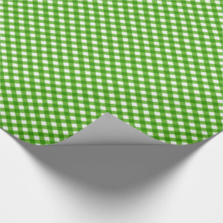 CHEX 2 GREEN-GIFT WRAPPING PAPER