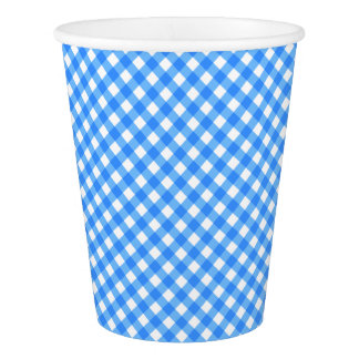 CHEX 6-PASTEL BLUE-PAPER CUPS