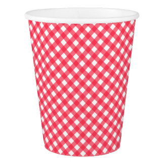 CHEX 7-WATERMELON RED-PAPER CUPS