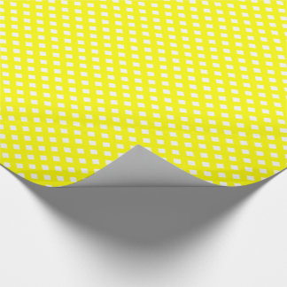 CHEX 8 YELLOW-GIFT WRAPPING PAPER