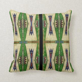 Cheyenne 1860's parfleche design cushion