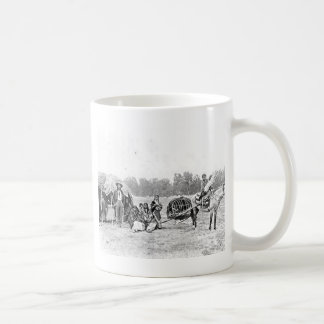 Cheyenne Indian Family Vintage Photograph Basic White Mug