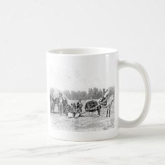 Cheyenne Indian Family Vintage Photograph Basic White Mug