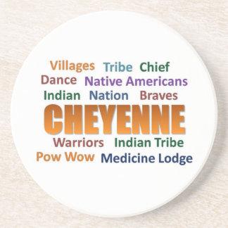 Cheyenne Indians Coaster