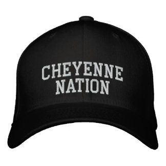 Cheyenne Nation Embroidered Baseball Caps