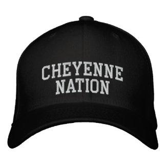 Cheyenne Nation Embroidered Hat