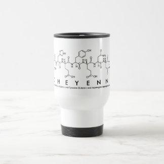 Cheyenne peptide name mug