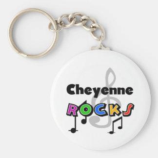 Cheyenne Rocks Key Ring