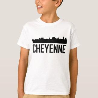 Cheyenne Wyoming City Skyline T-Shirt