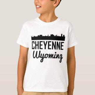 Cheyenne Wyoming Skyline T-Shirt