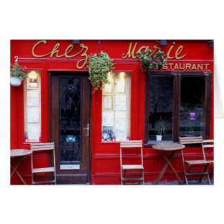 Chez Marie Card