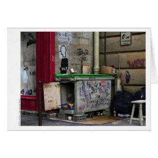 CHEZ RAYMOND Card - Digital Realism Art