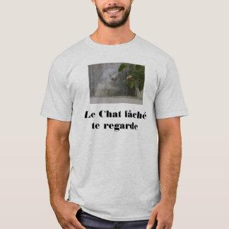 chfch, Le Chat fâché te regarde T-Shirt