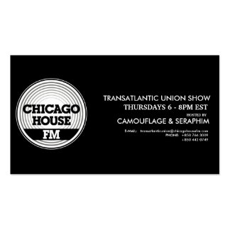 CHFM Show Info Cards Pack Of Standard Business Cards