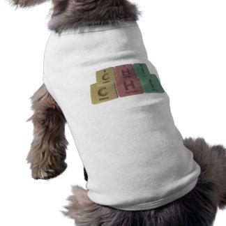 Chi as Carbon Hydrogen Iodine Doggie T-shirt