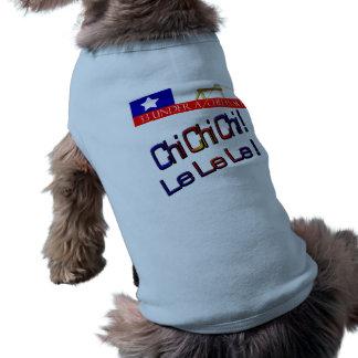 Chi chi chi le le le sleeveless dog shirt