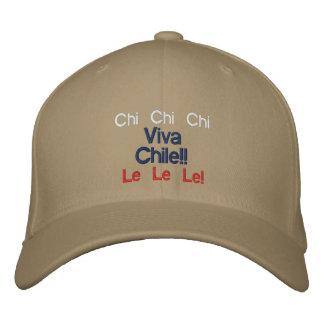 Chi Chi Chi, Le Le Le! Viva Chile Hat!! Embroidered Baseball Caps