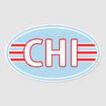 CHI Chicago Flag Colours