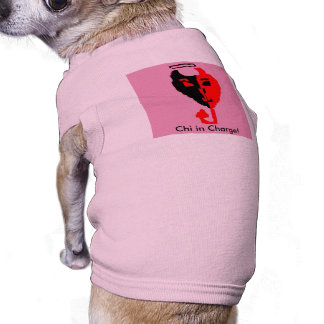 Chi in Charge! Dog T-shirt