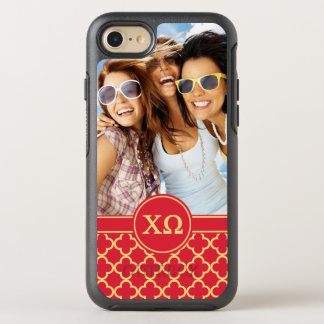 Chi Omega | Monogram and Photo OtterBox Symmetry iPhone 8/7 Case