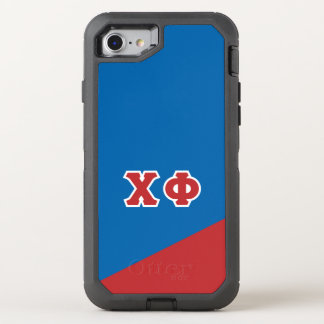 Chi Phi | Greek Letters OtterBox Defender iPhone 8/7 Case
