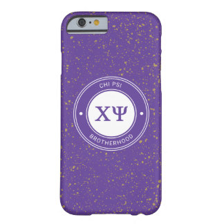 Chi Psi | Badge Barely There iPhone 6 Case