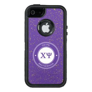 Chi Psi | Badge OtterBox Defender iPhone Case