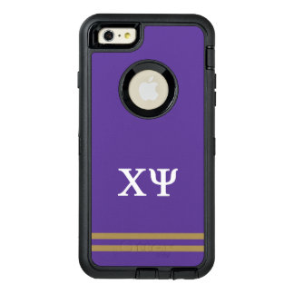 Chi Psi | Sport Stripe OtterBox Defender iPhone Case