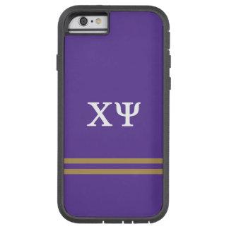 Chi Psi   Sport Stripe Tough Xtreme iPhone 6 Case