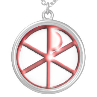 Chi-Rho Christan Necklace