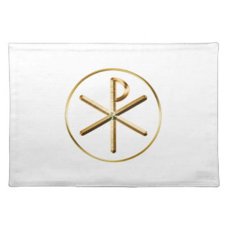 Chi-Rho glow Placemat